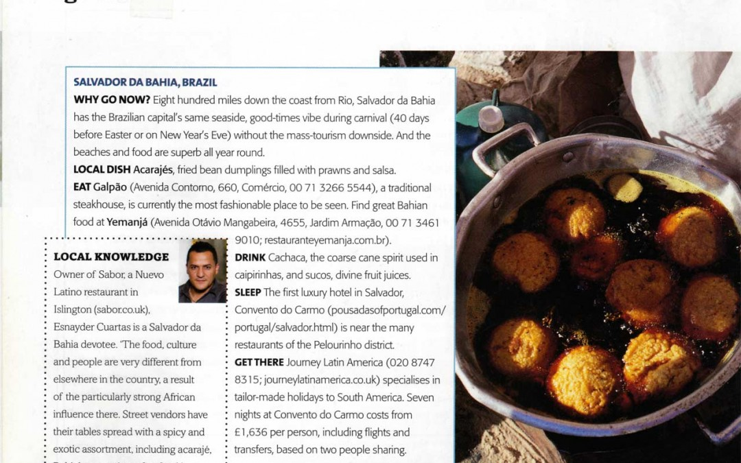 Salvador da Bahia Article for Olive Magazine